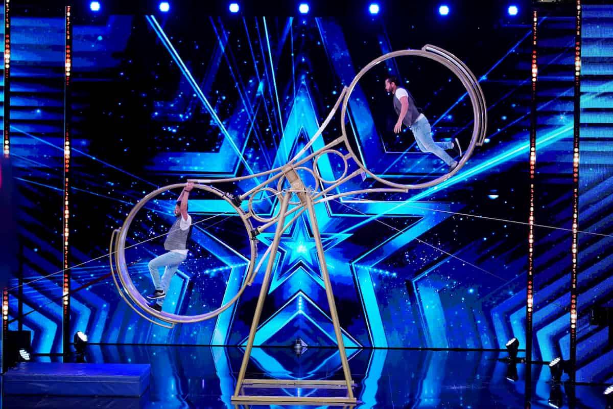 Rony und Jesse Brandao beim Supertalent am 31.10.2020