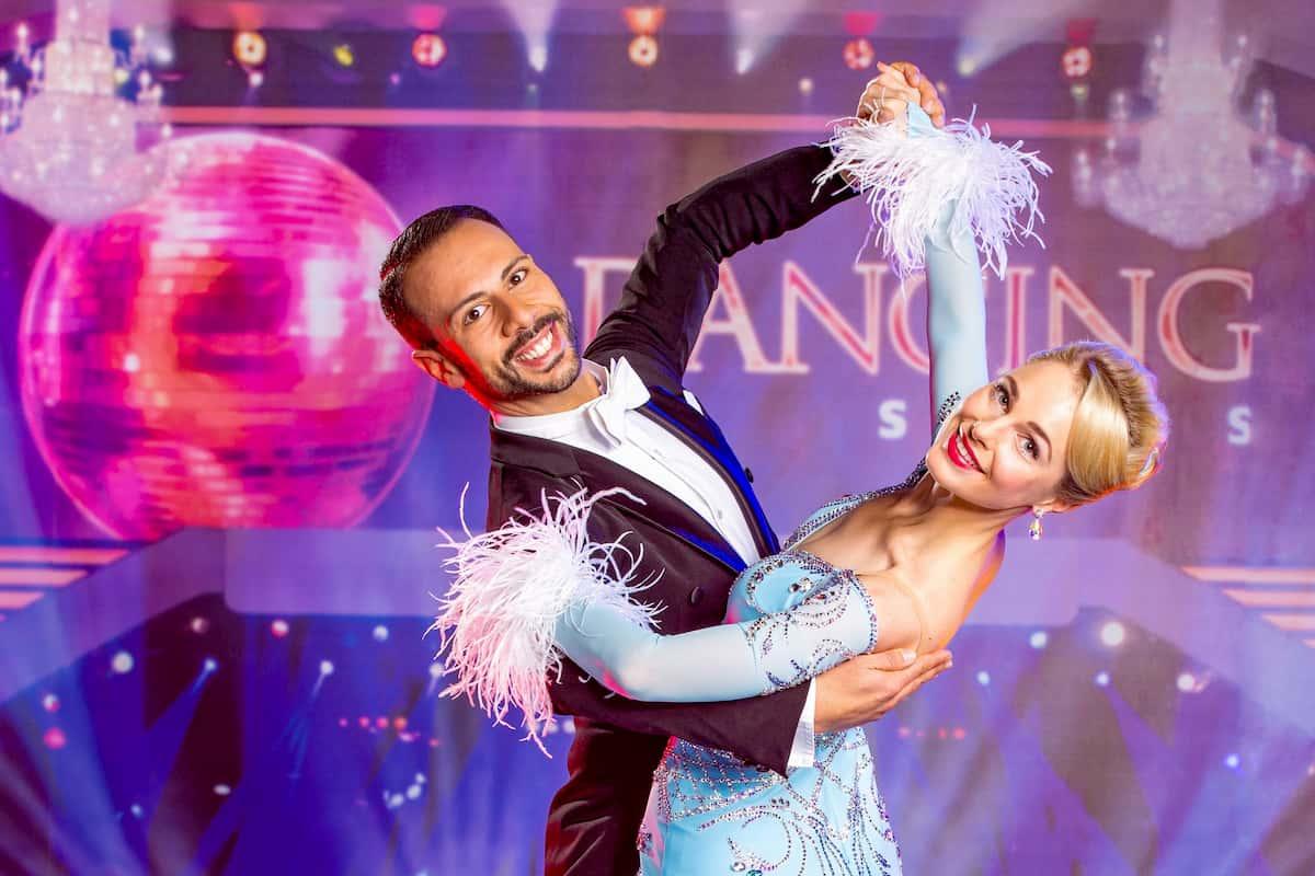 Silvia Schneider - Danilo Campisi bei den Dancing Stars am 16.10.2020
