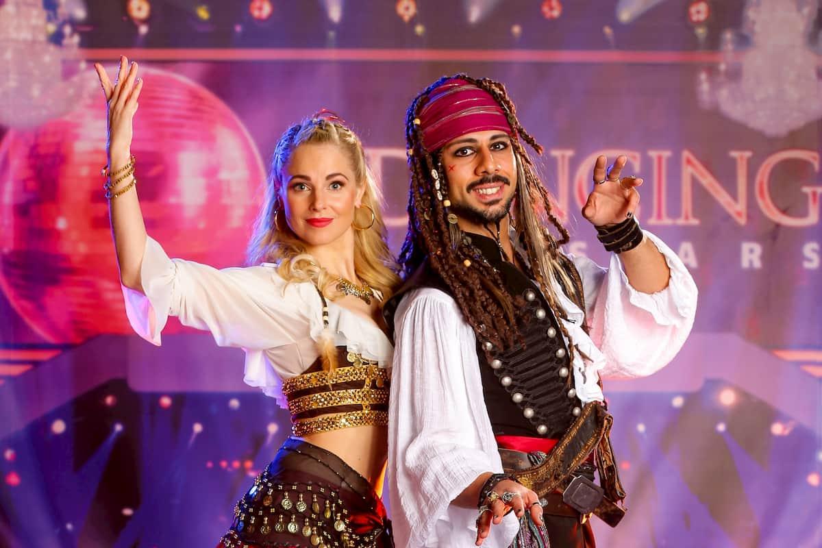 Silvia Schneider - Danilo Campisi bei den Dancing Stars am 30.10.2020