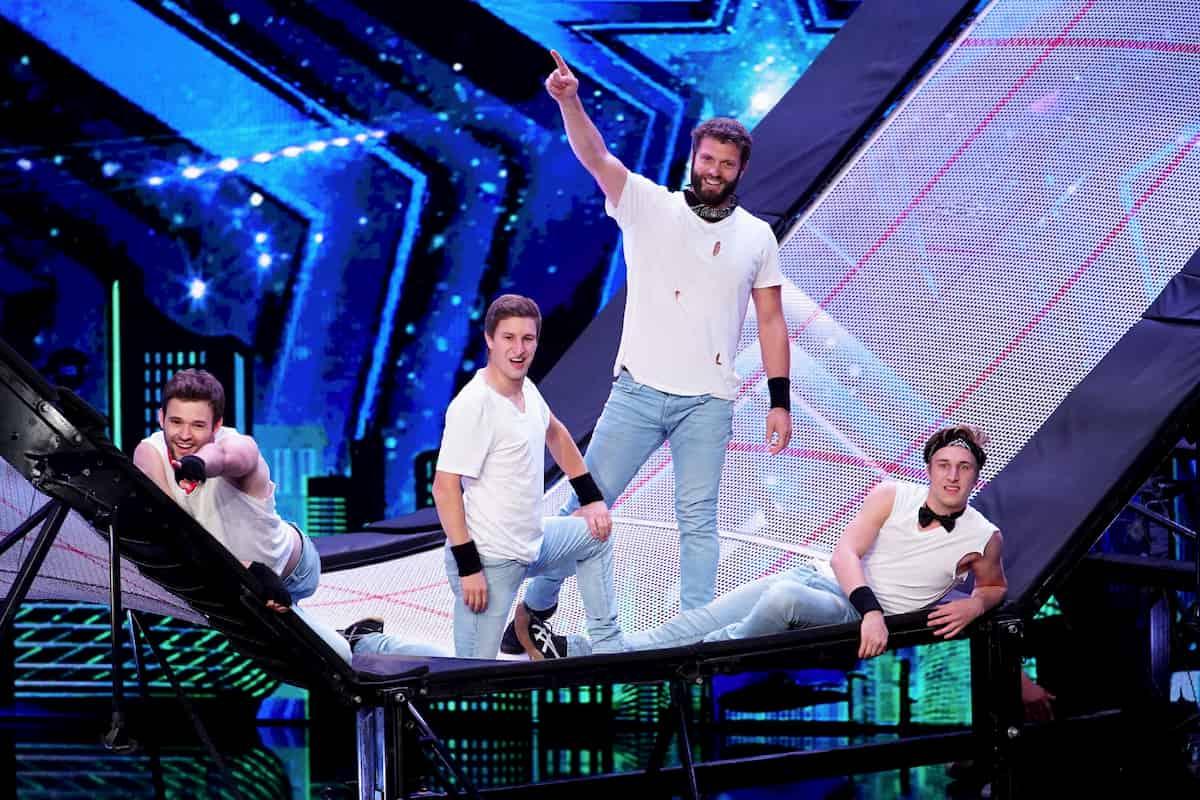 Supertalent am 17.10.2020 - Kandidaten The Catwall Acrobats