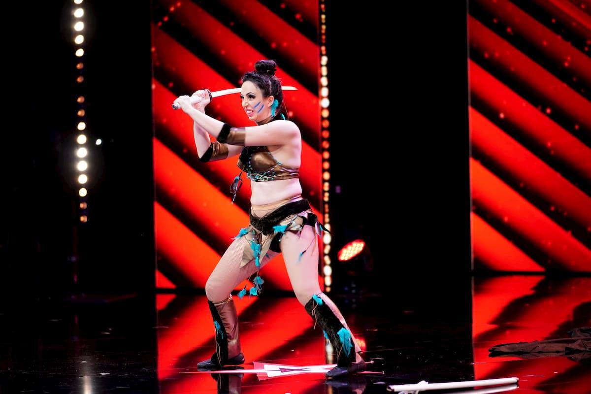 Supertalent am 17.10.2020 - Kandidatin Emanuela Spina