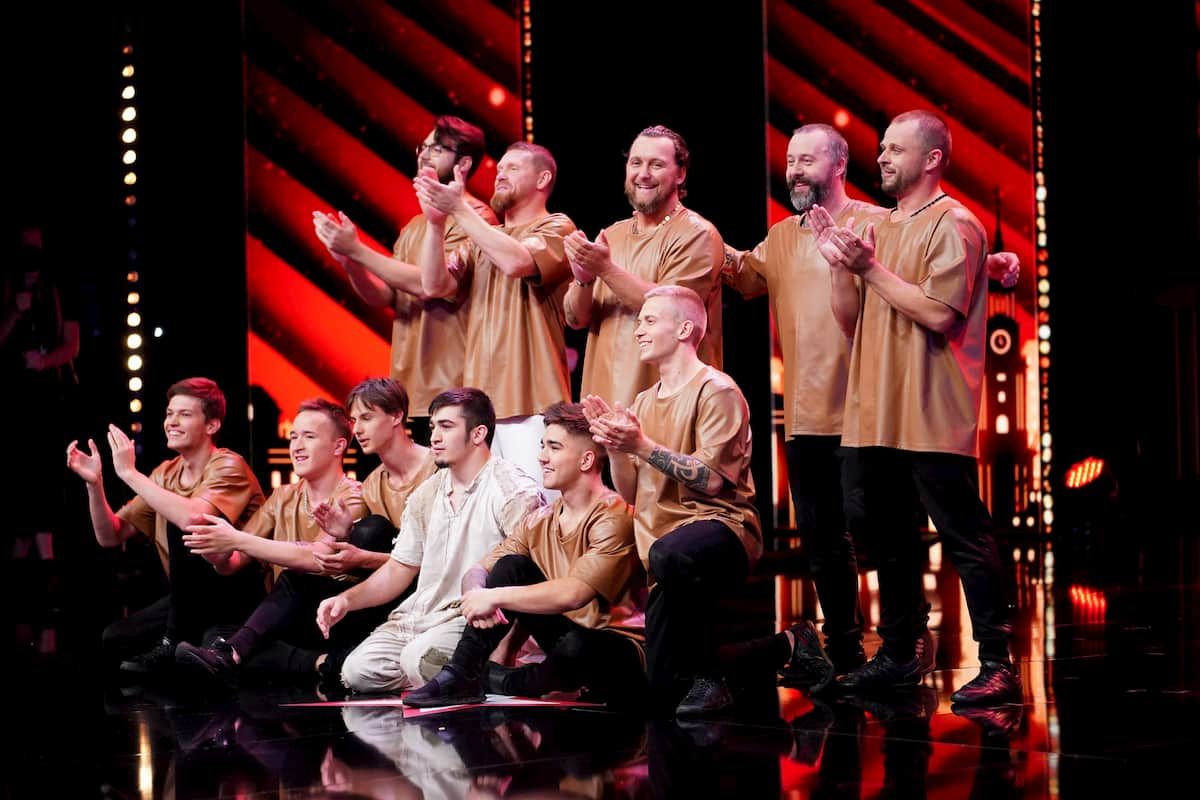 Tanzgruppe UDI beim Supertalent am 31.10.2020