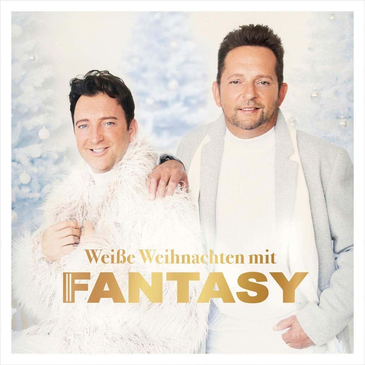 Weiße Weihnachten mit Fantasy, neue Weihnachts-CD 2020 des Schlager-Duos