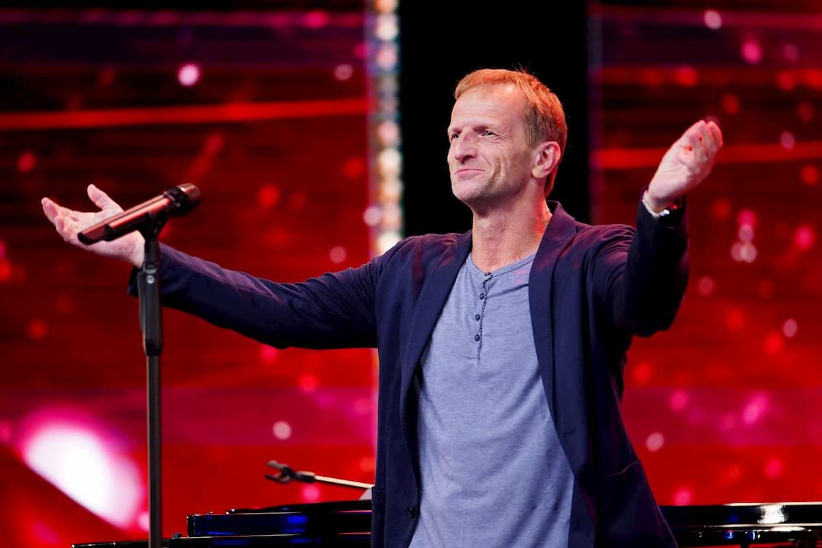 Wolfgang Edelmayer beim Supertalent am 24.10.2020