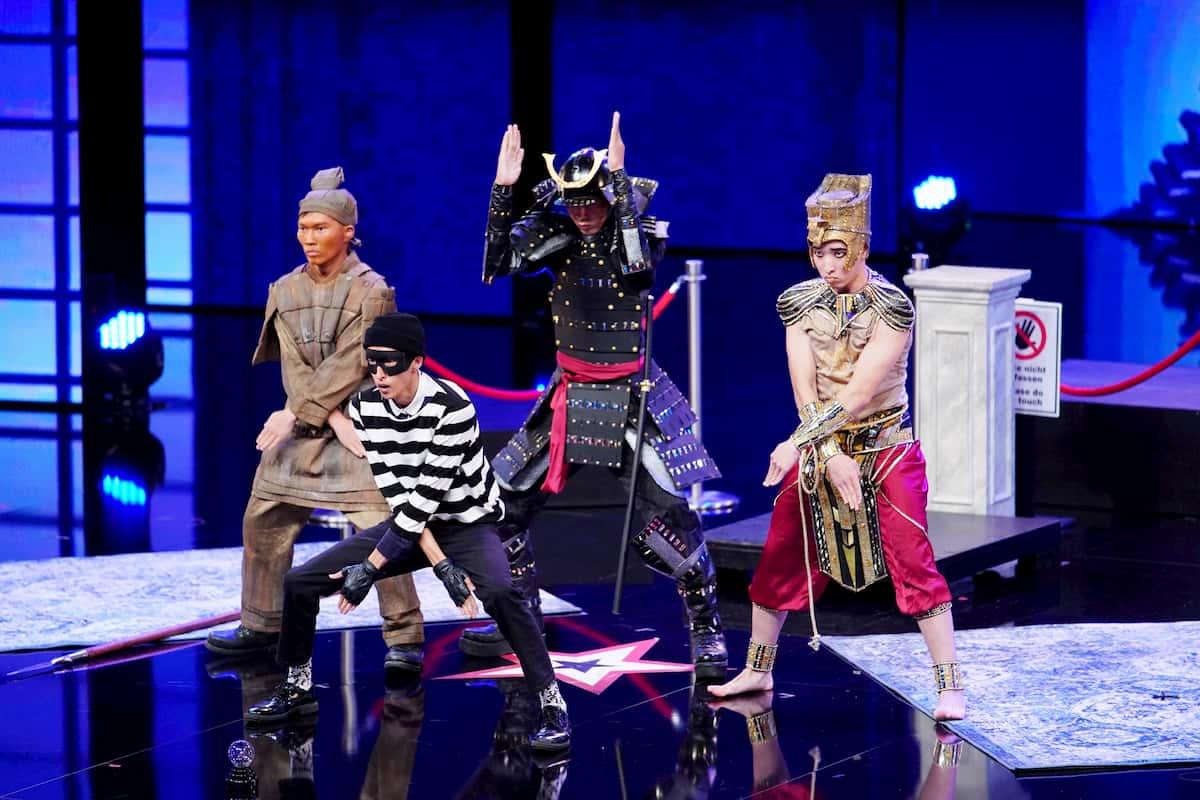 ATAI Show Team beim Supertalent am 7.11.2020