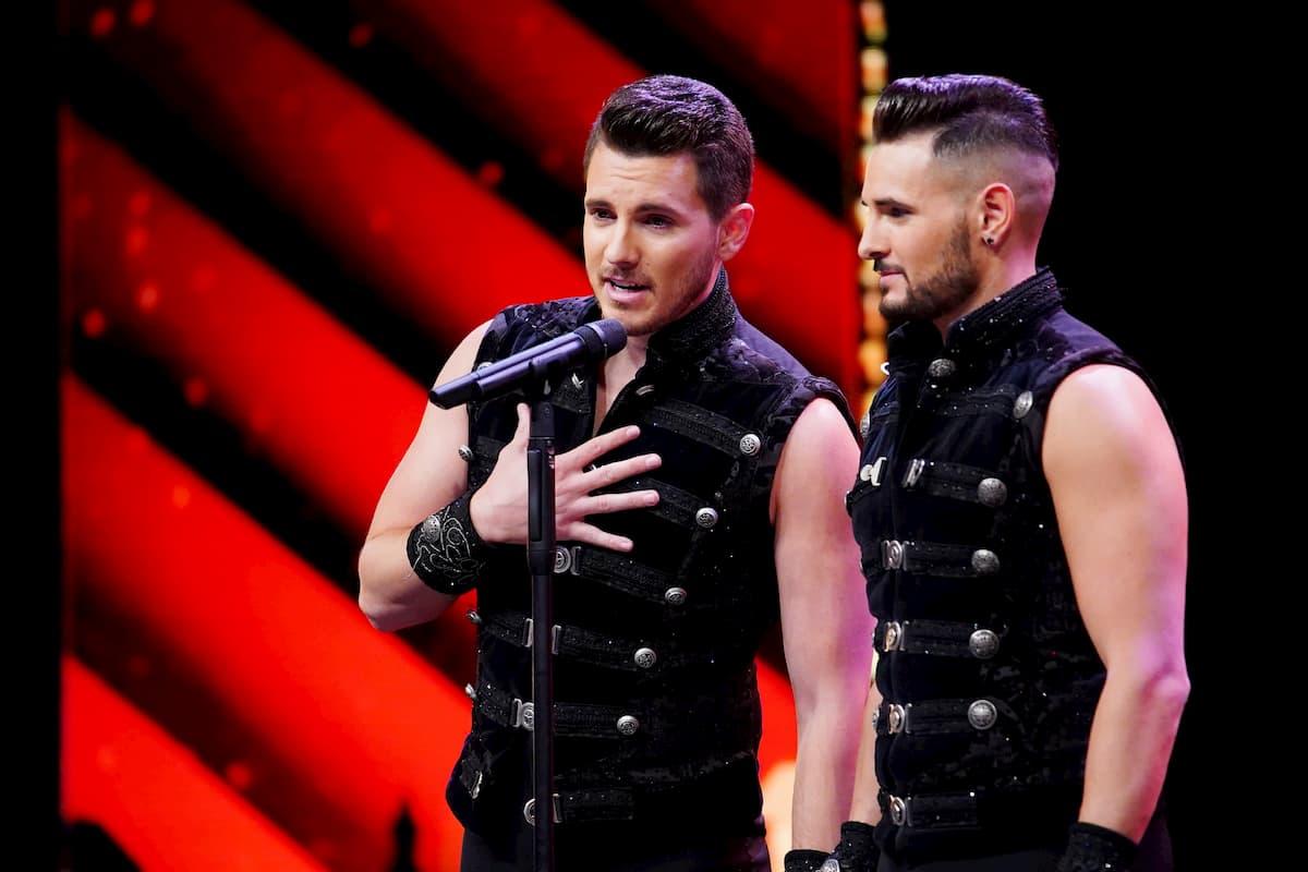 Alejandro und Ricardo Rossi beim Supertalent am 21.11.2020