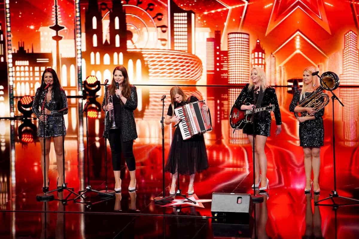 Band Slovenke - Kandidatinnen beim Supertalent am 28.11.2020