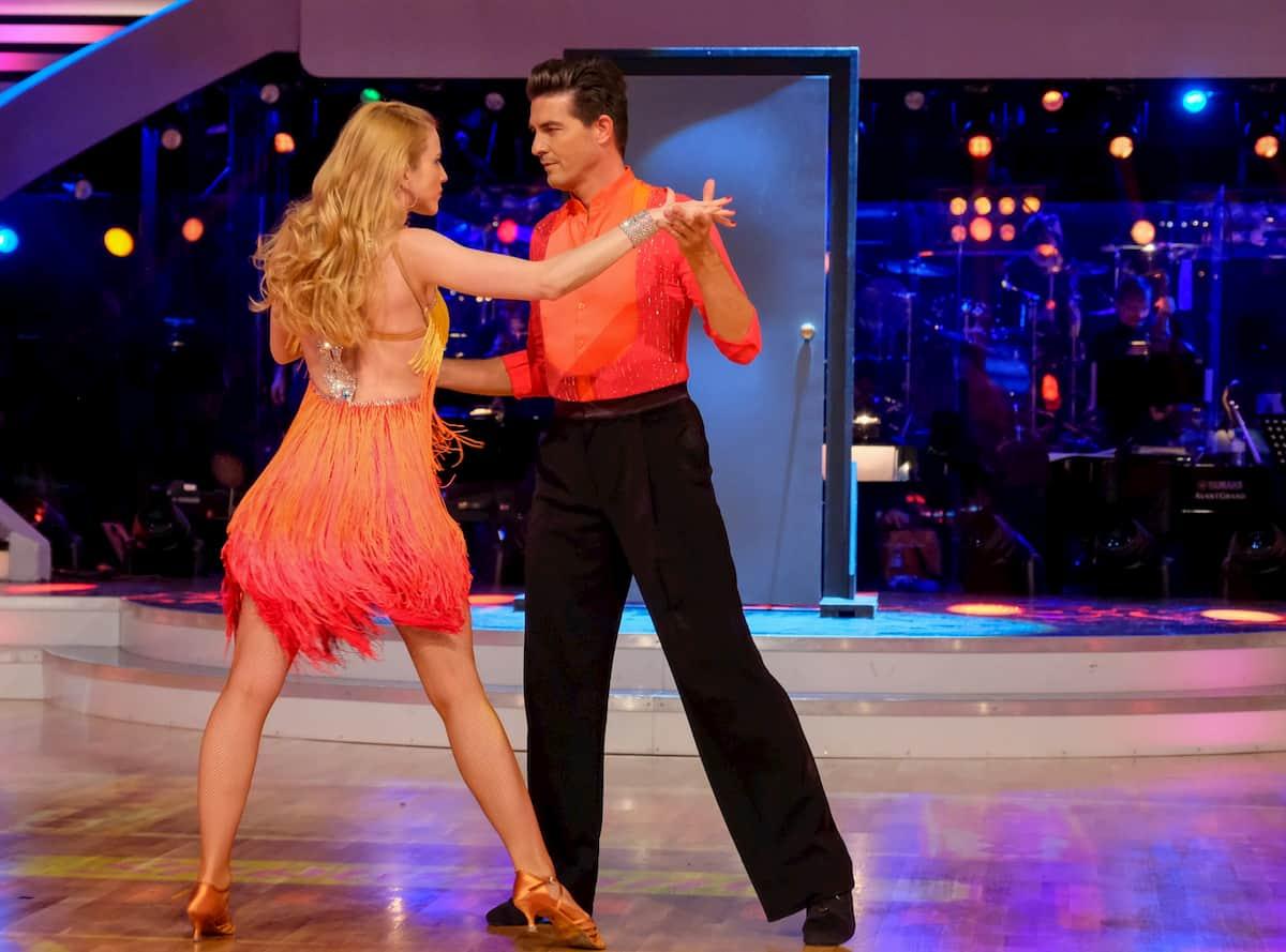 Catharina Malek - Norbert Oberhauser bei Dancing Stars am 13.11.2020