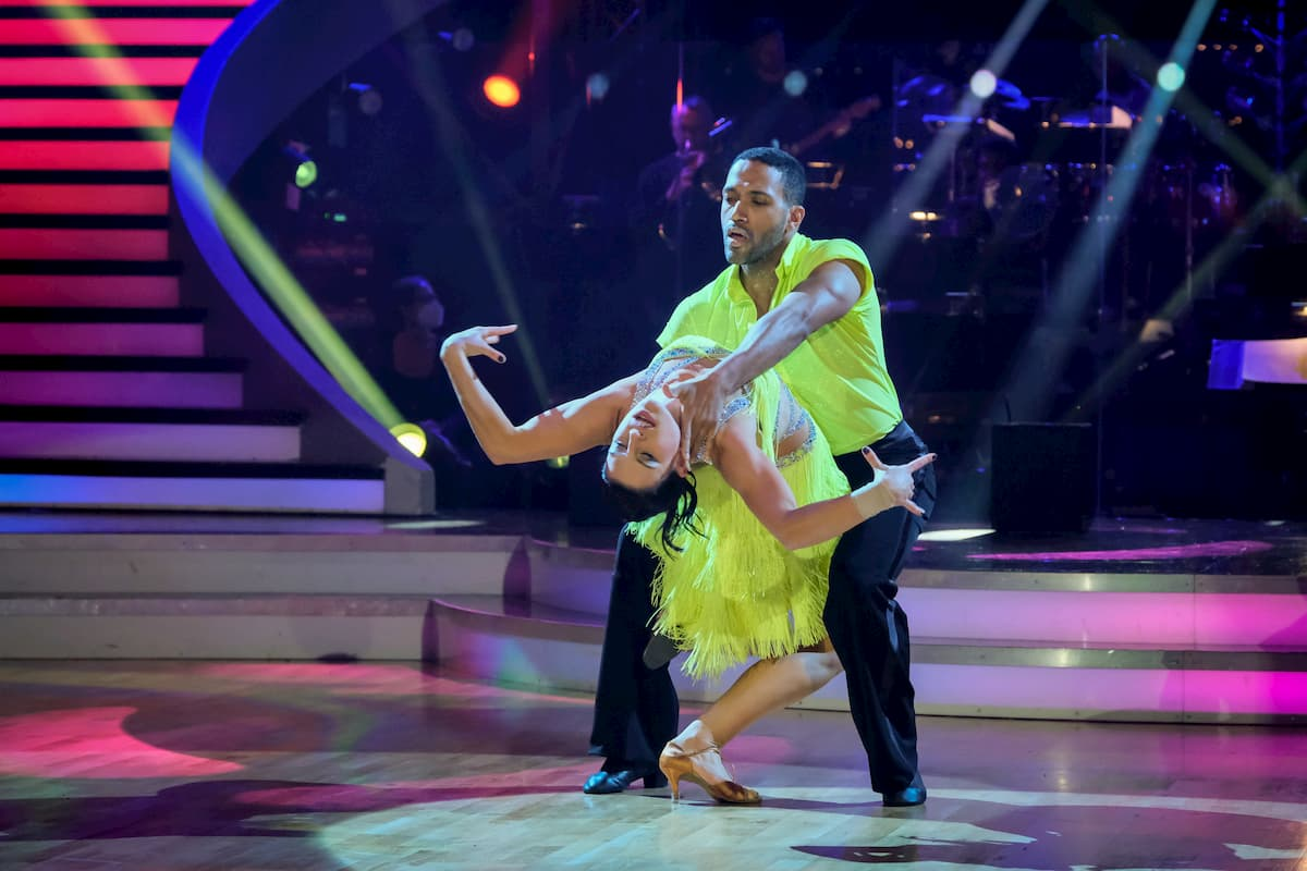 Cesar Sampson - Conny Kreuter Salsa im Finale Dancing Stars 2020 am 27.11.2020
