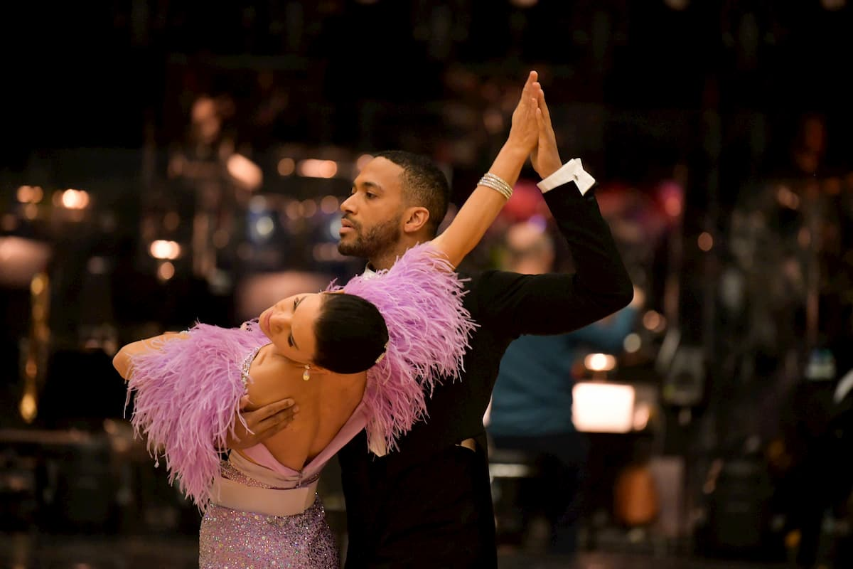 Cesar Sampson - Conny Kreuter im Halbfinale Dancing Stars 2020