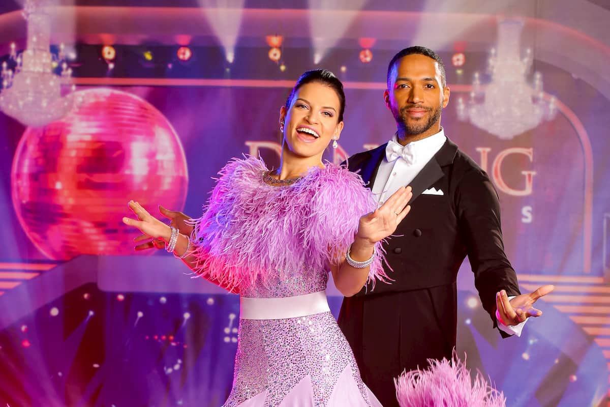Cesar Sampson - Conny Kreuter im Halbfinale Dancing Stars am 20.11.2020