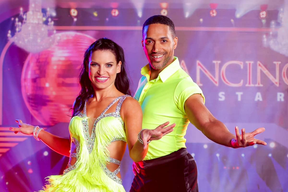 Cesar Sampson und Conny Kreuter im Finale der Dancing Stars 2020 auf Platz 2