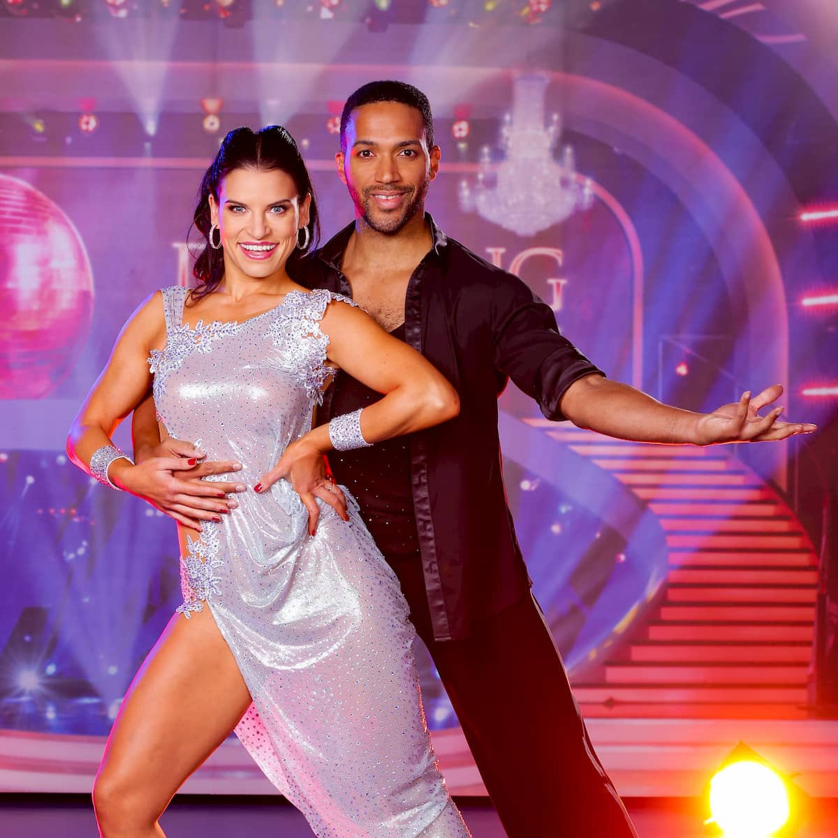 Conny Kreuter - Cesar Sampson bei den Dancing Stars am 6.11.2020