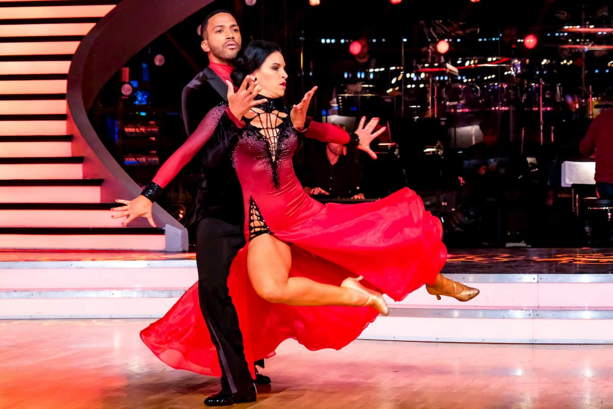 Dancing Stars am 13.11.2020 Cesar Sampson - Conny Kreuter