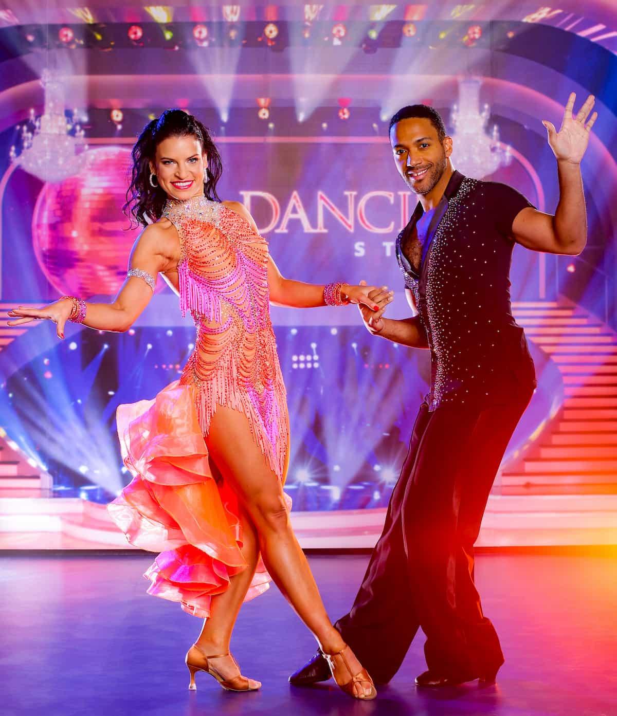 Dancing Stars am 13.11.2020 Conny Kreuter und Cesar Sampson