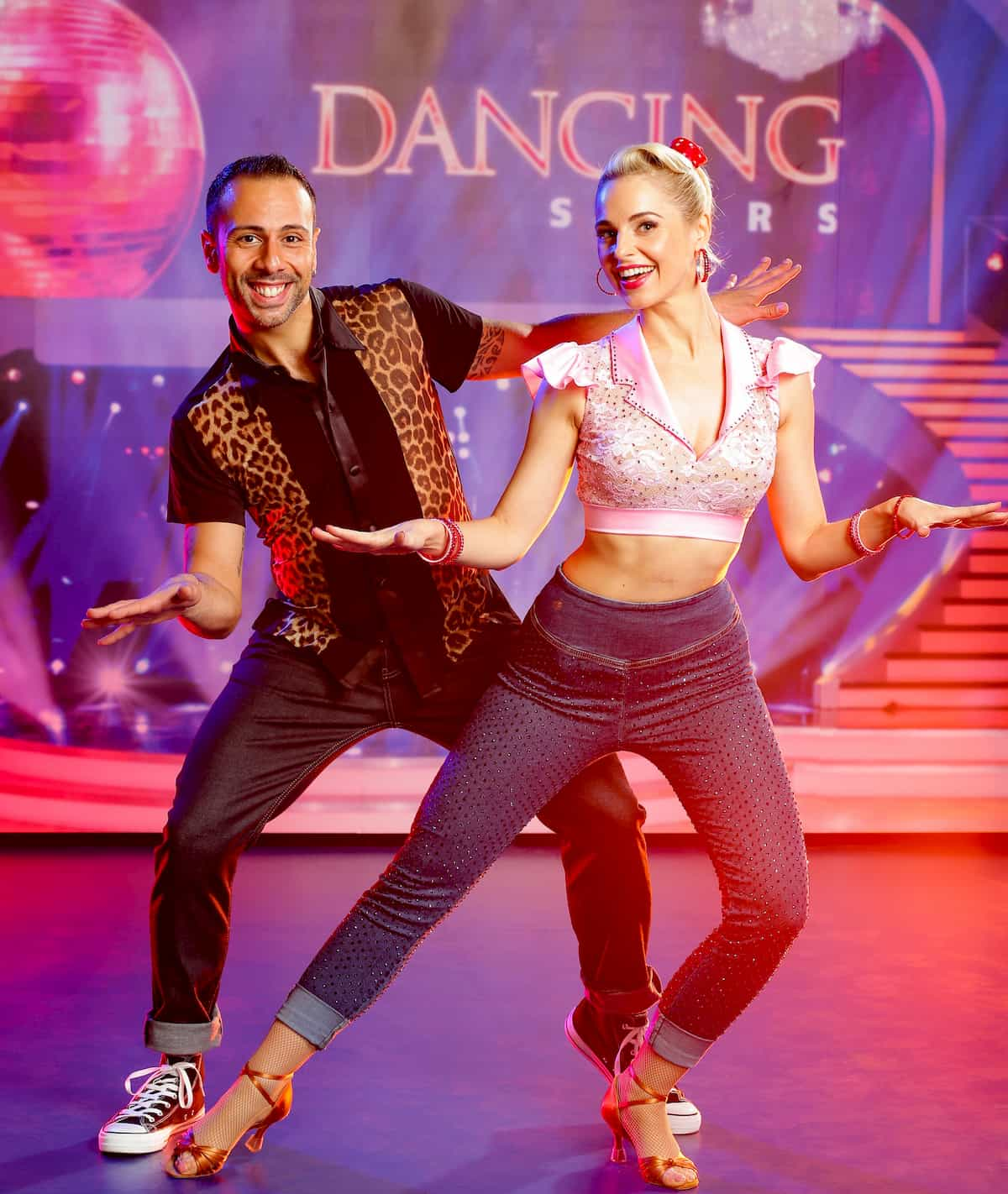 Dancing Stars am 13.11.2020 - Danilo Campisi und Silvia Schneider