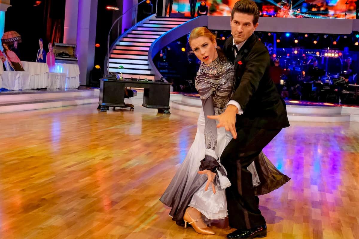Dancing Stars am 13.11.2020 - Norbert Oberhauser - Catharina Malek