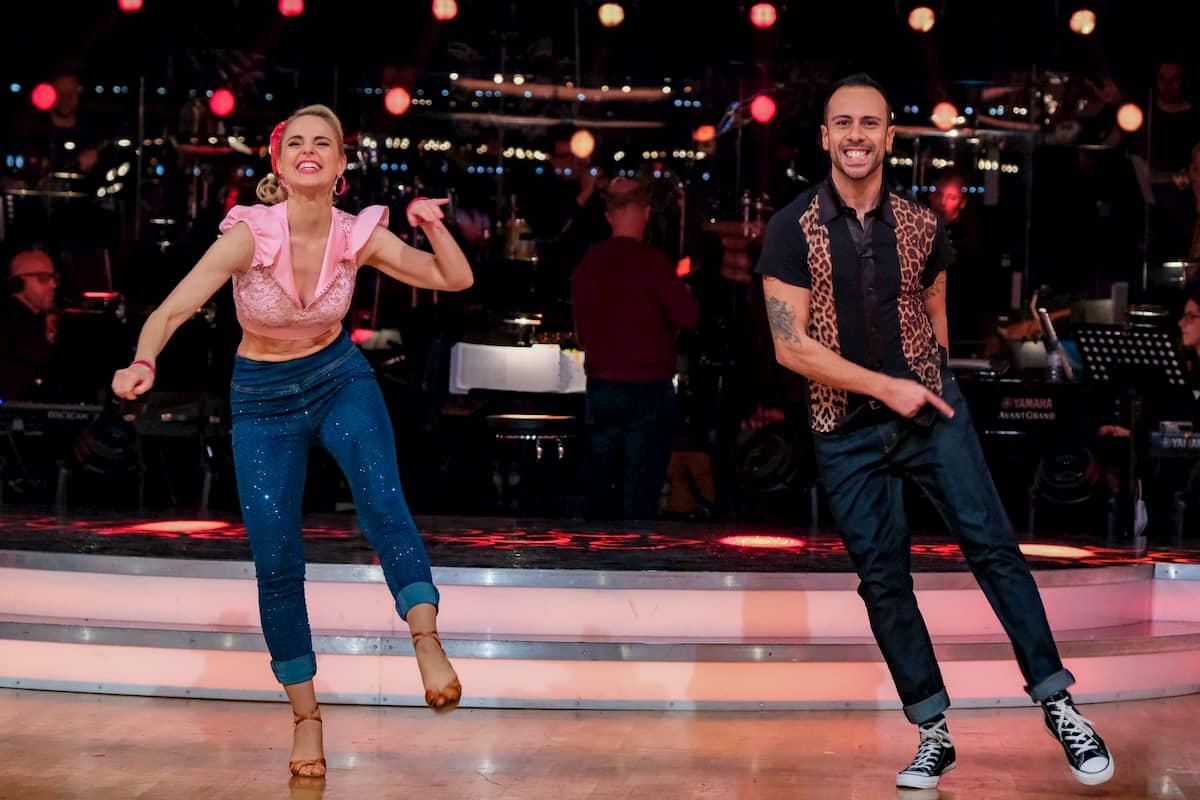 Dancing Stars am 13.11.2020 Silvia Schneider - Danilo Campisi