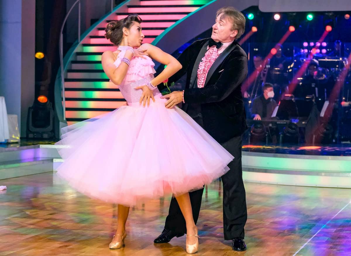 Dancing Stars am 6.11.2020 Andreas Ogris & Vesela Dimova