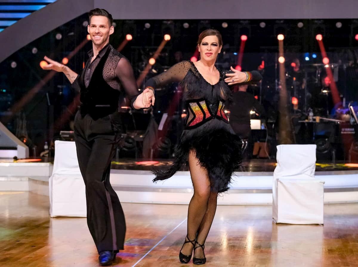 Dancing Stars am 6.11.2020 Natalia Ushakova & Stefan Herzog