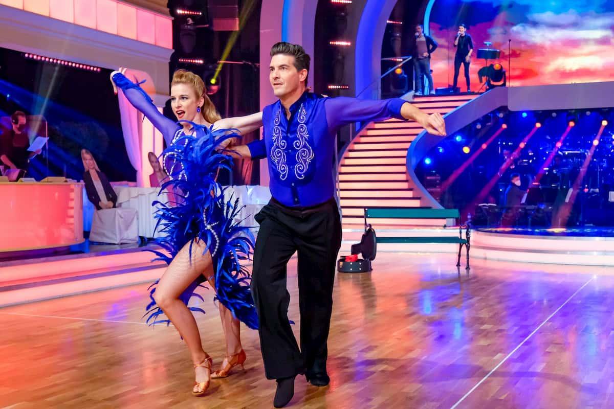 Dancing Stars am 6.11.2020 Norbert Oberhauser & Catharina Malek