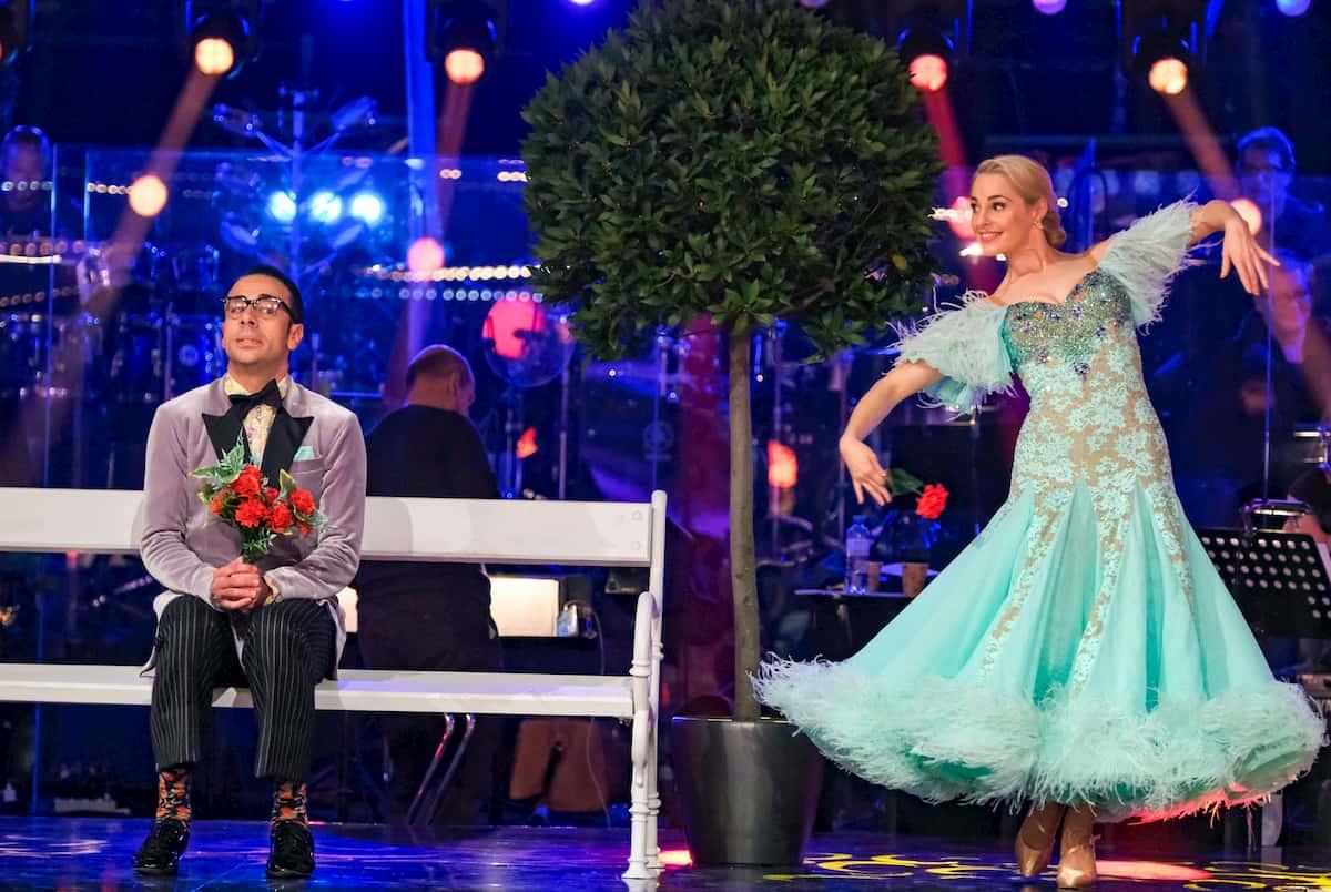 Dancing Stars am 6.11.2020 Silvia Schneider & Danilo Campisi