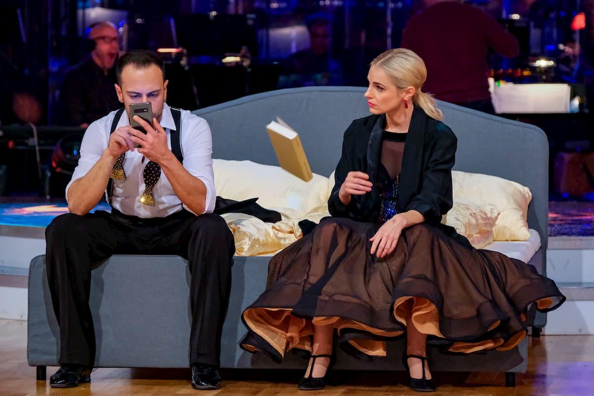 Danilo Campisi - Silvia Schneider bei Dancing Stars am 13.11.2020