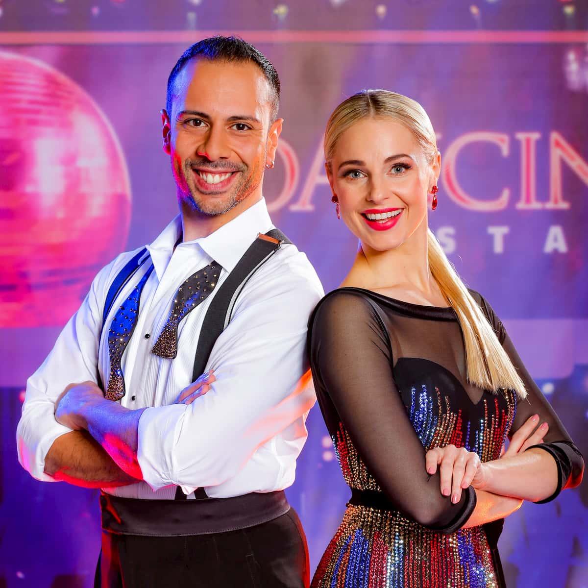Danilo Campisi und Silvia Schneider bei den Dancing Stars am 13.11.2020