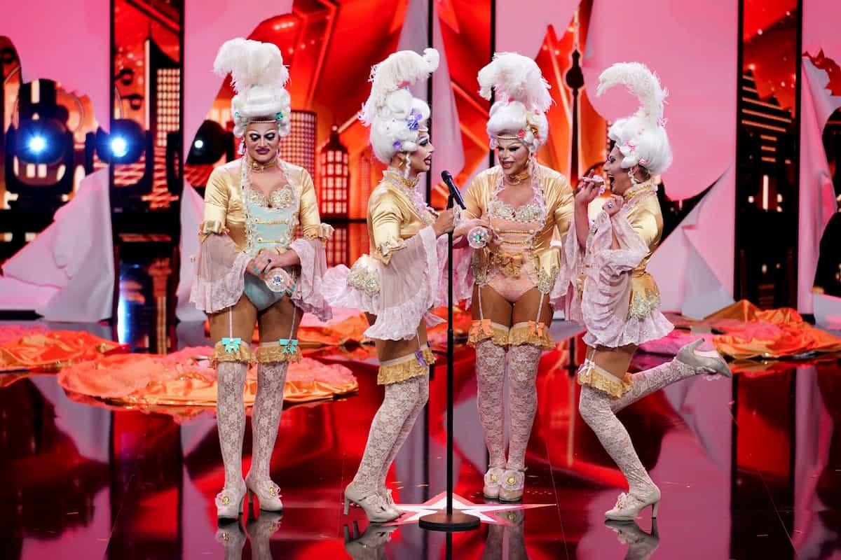 Divine Carousel beim Supertalent am 7.11.2020