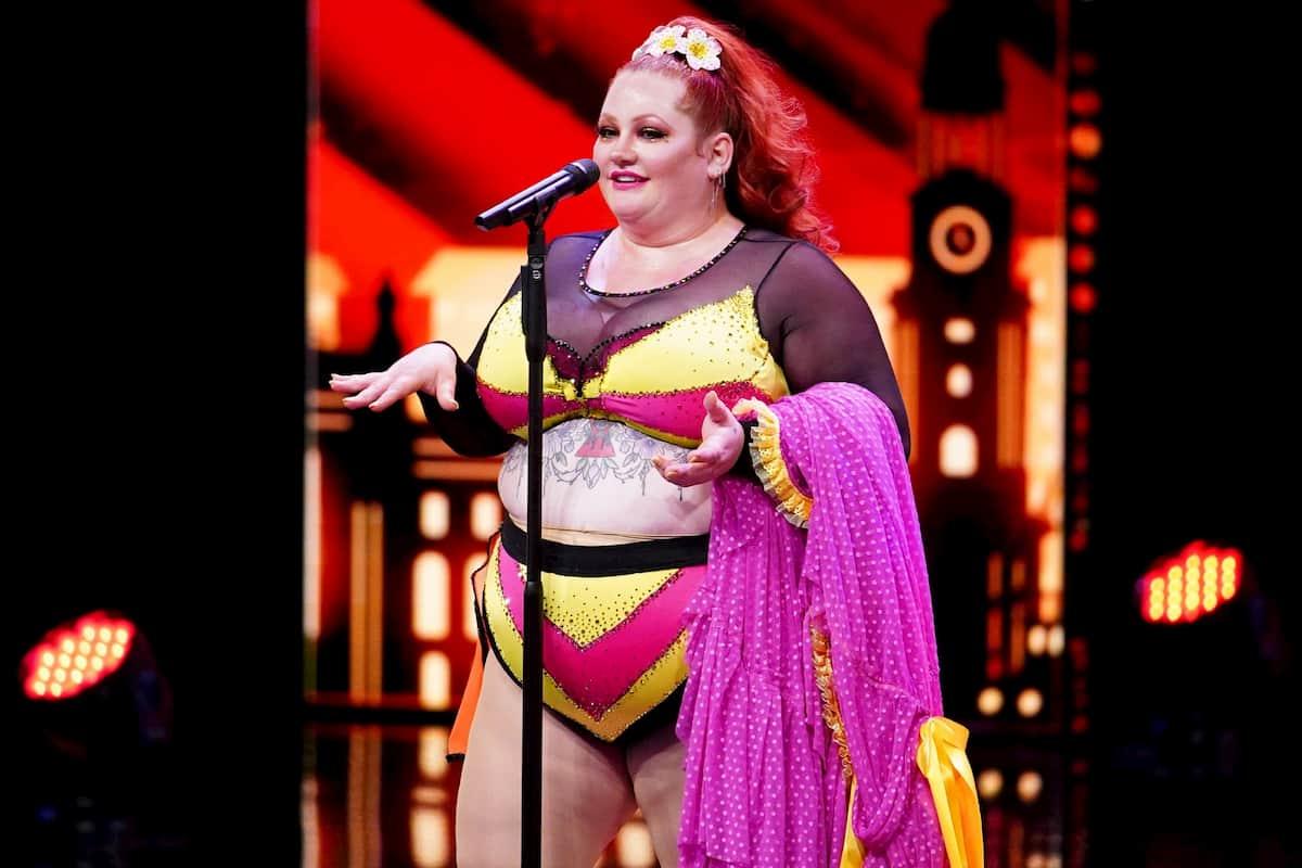 Ginger Snaps Kandidatin beim Supertalent am 28.11.2020
