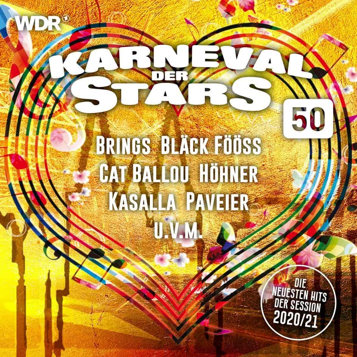 Karneval der Stars 50 - Karnevals-CD 2020-2021