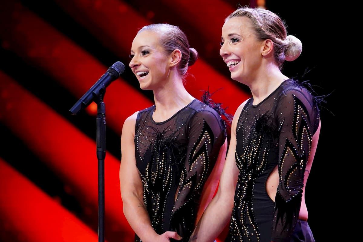 Kayla Burch und Amalia Lang beim Supertalent am 7.11.2020