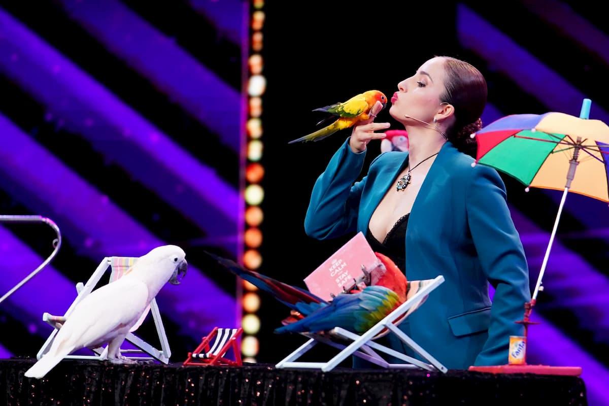 Laura Urunov beim Supertalent am 7.11.2020