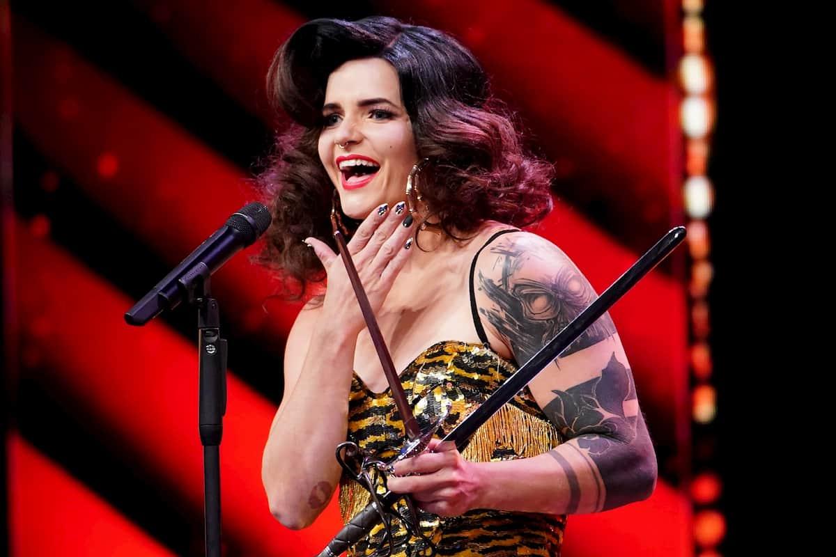 Lisa Chudalla beim Supertalent am 21.11.2020