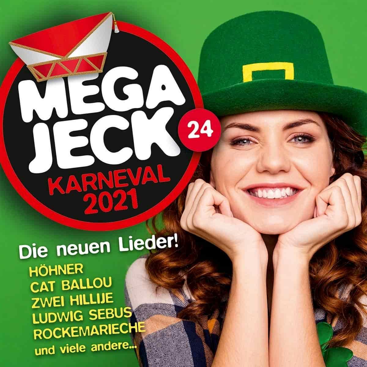 Mega Jeck 24 - die Mega-Jeck-CD für den Karneval 2021
