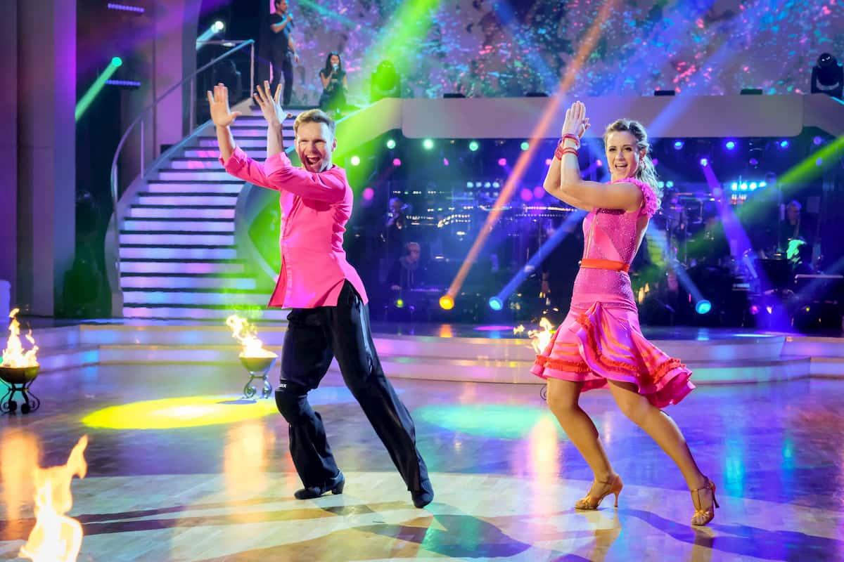 Michaela Kirchgasser - Vadim Garbuzov Salsa im Finale Dancing Stars 2020 am 27.11.2020