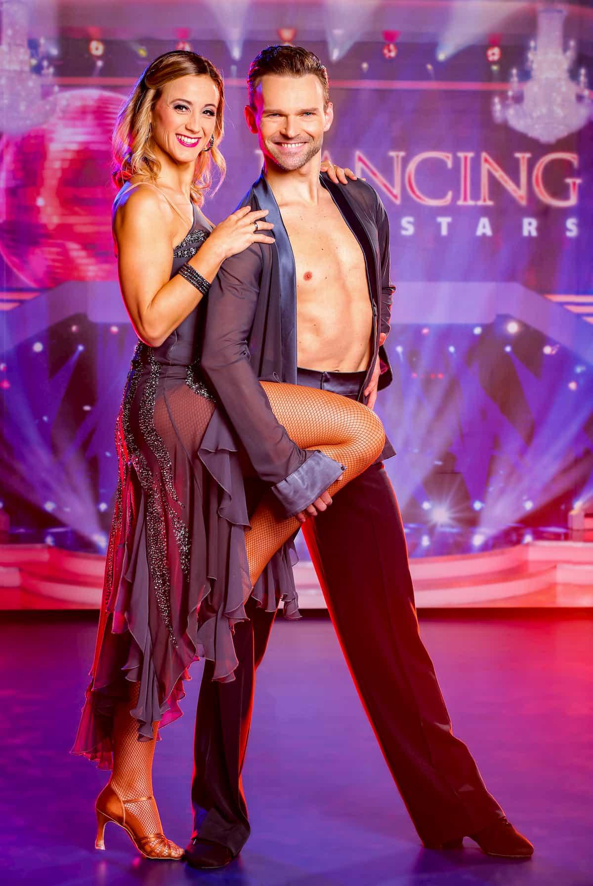 Michaela Kirchgasser - Vadim Garbuzov bei den Dancing Stars am 6.11.2020