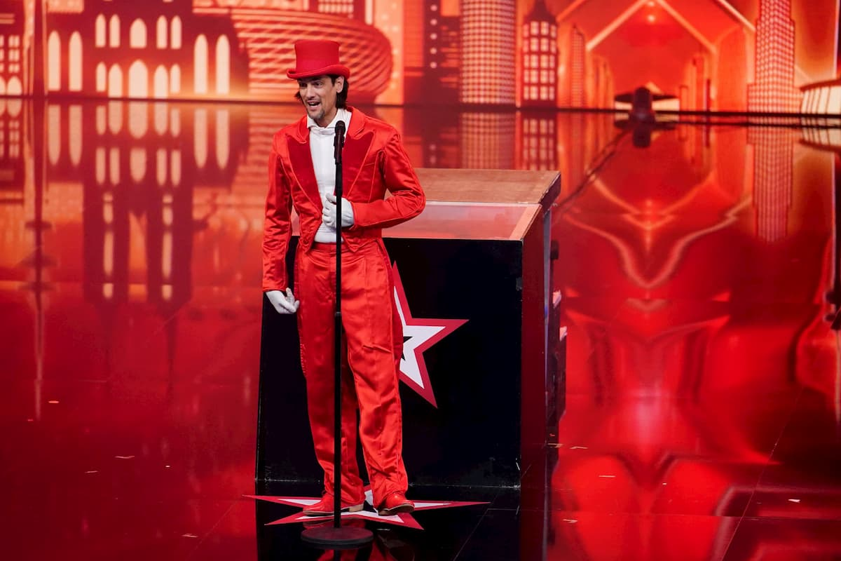 Nikolay Matev Kandidat beim Supertalent am 28.11.2020