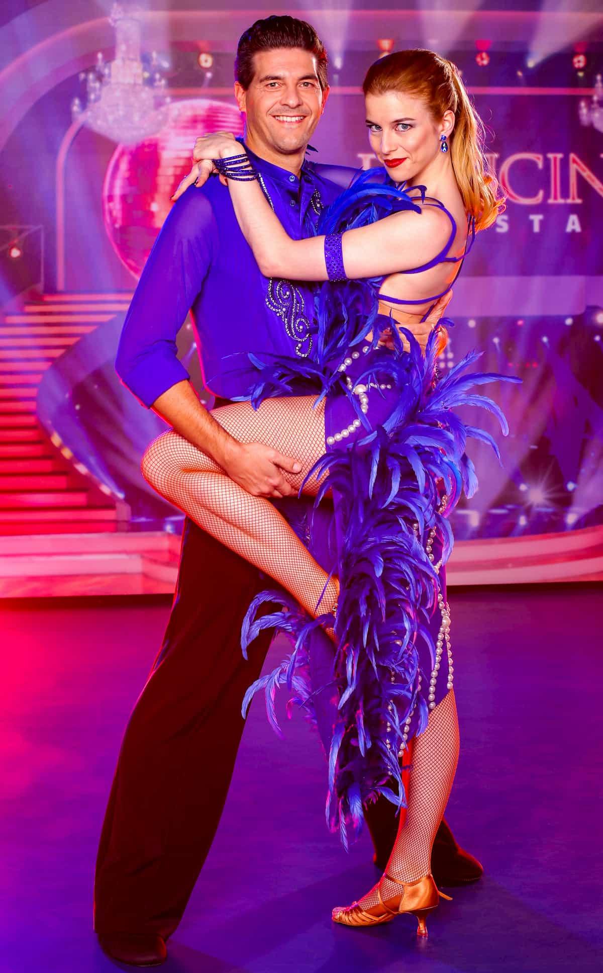 Norbert Oberhauser - Catharina Malek bei den Dancing Stars am 6.11.2020