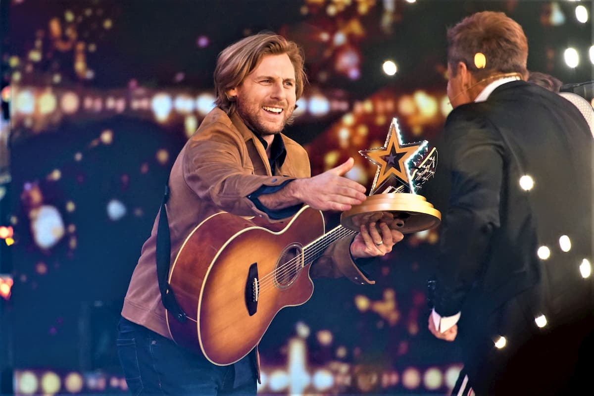 Platz 1 im Finale Supertalent 2020 geht an Nick Ferretti