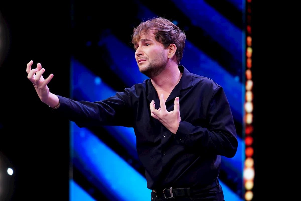 Rafael-Evitan Grombelka beim Supertalent am 7.11.2020