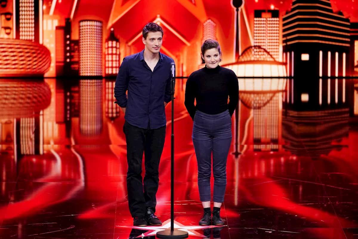 Raphael und Maude Kandidaten beim Supertalent am 28.11.2020