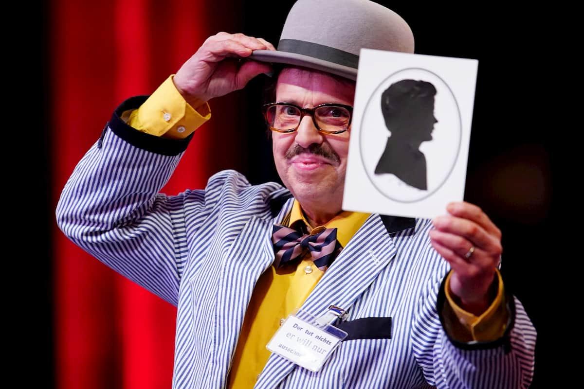 Reinhold Stier beim Supertalent am 7.11.2020