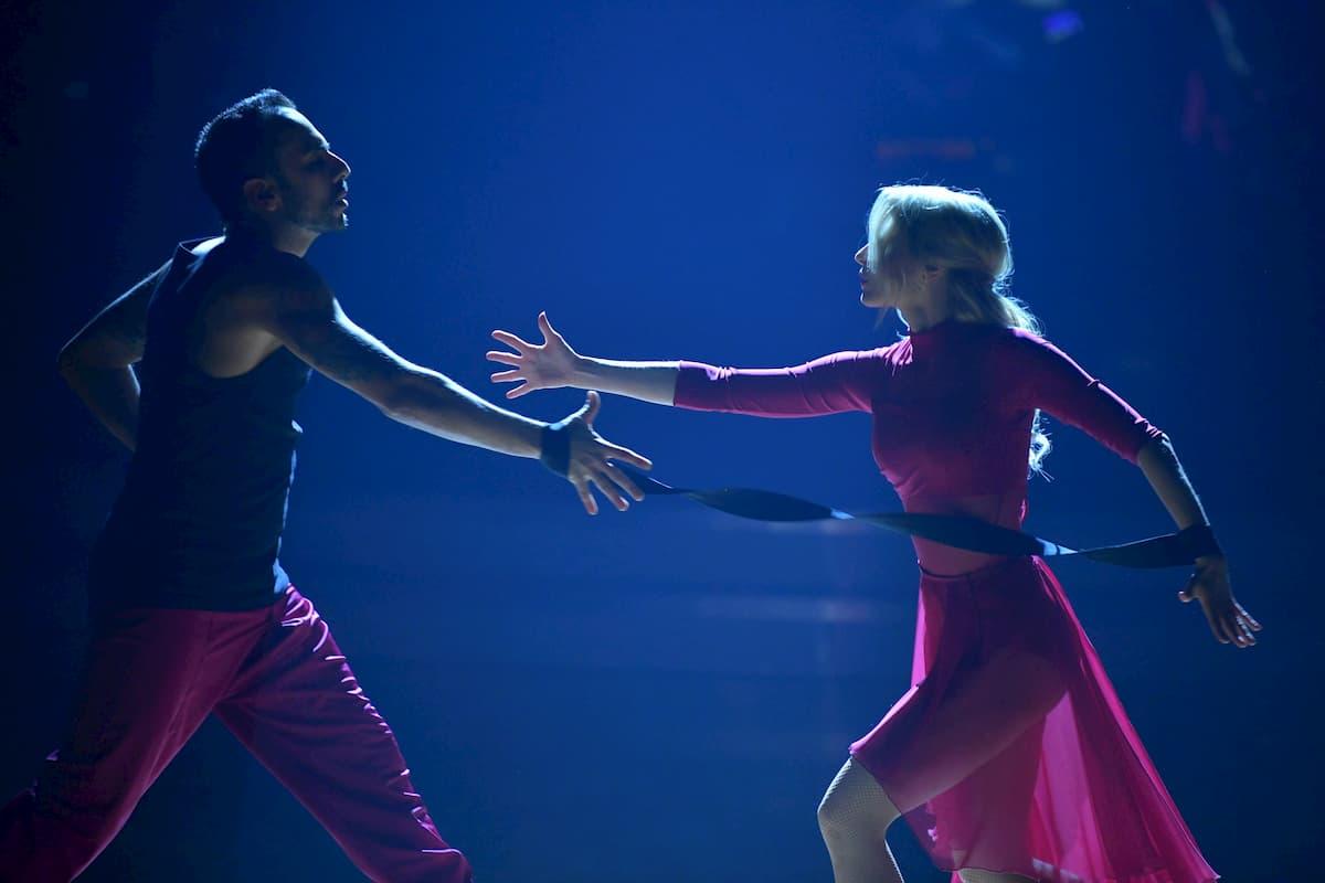 Silvia Schneider - Danilo Campisi Contemporary Finale Dancing Stars 2020 am 27.11.2020