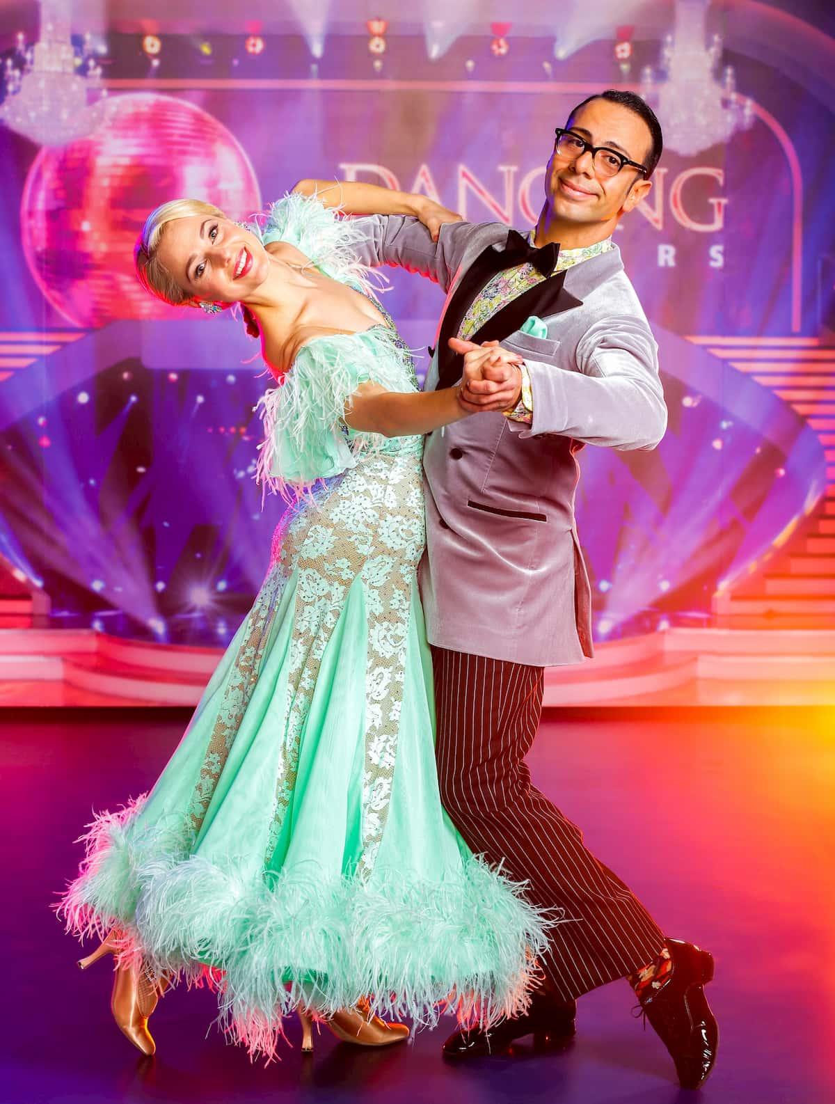 Silvia Schneider - Danilo Campisi bei den Dancing Stars am 6.11.2020