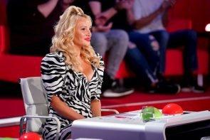 Supertalent am 7.11.2020 Alle Kandidaten der Sendung vorgestellt - hier im Bild Jury-Mitglied Evelyn Burdecki