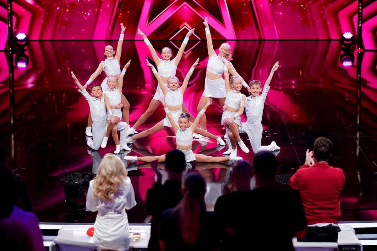 Tanzsportgarde Harsewinkel beim Supertalent am 7.11.2020