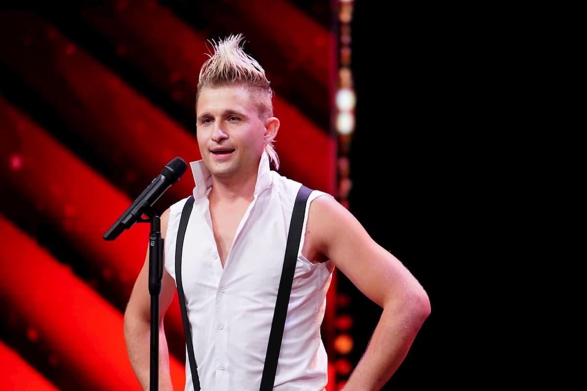 Vladimir Omelchenko beim Supertalent am 7.11.2020