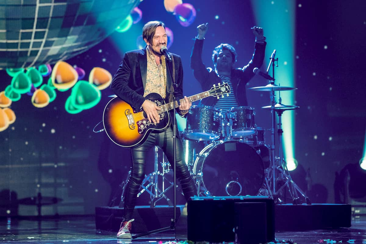 Alle Achtung (Band) in der Silvester-Show 31.12.2020 Pilawa in ARD und ORF