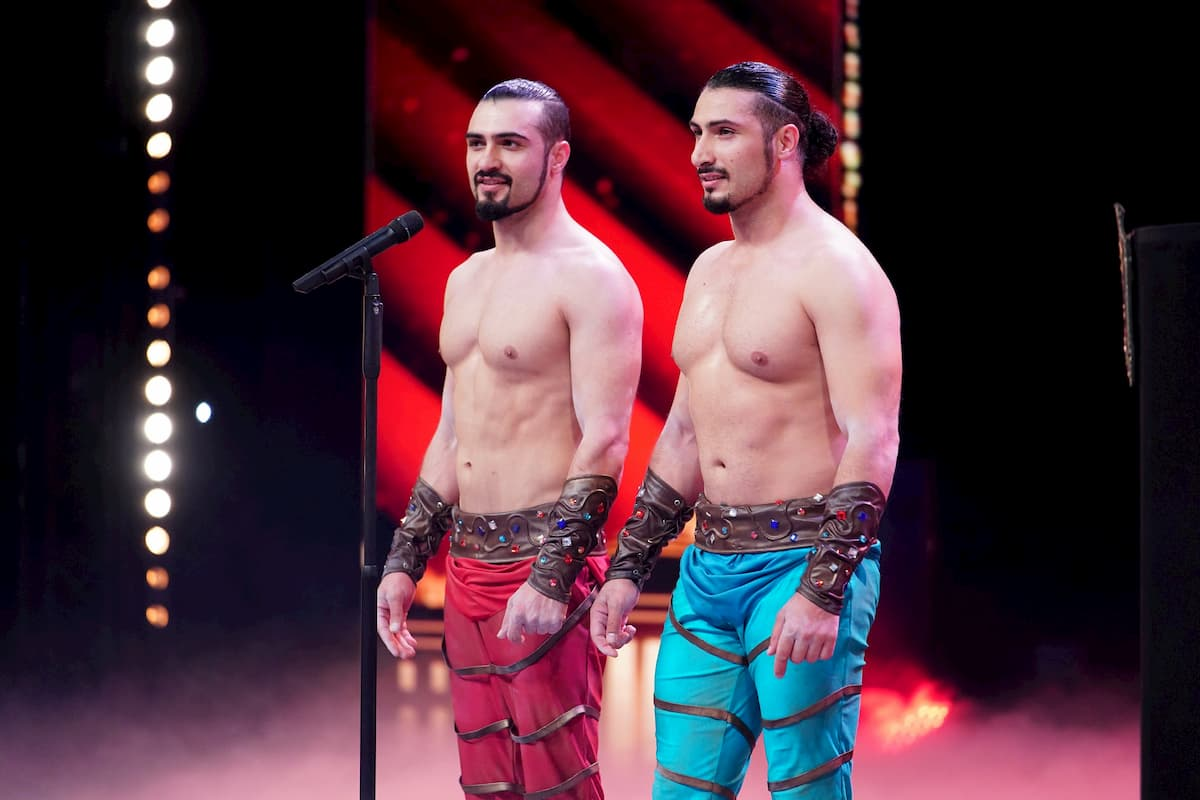 Andranik und Gevorg Vardanyan beim Supertalent am 12.12.2020